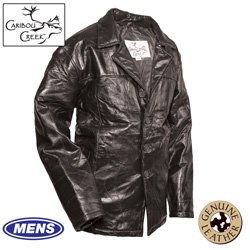 Mens Hipster Jacket - Black  Model# PY-029-1