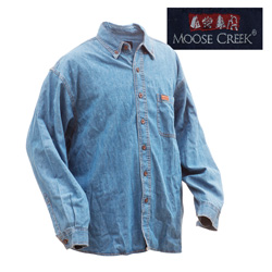 Moose Creek Denim Shirt  Model# BV4726