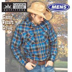 Canyon Guide Western Shirt  Model# 24519-936HL-M