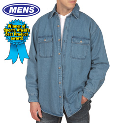 Fleece Lined Denim Shirt  Model# 2778C-014HL-M
