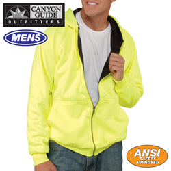 Hi-Vis Thermal Hoodie - Yellow  Model# 74810-017HL