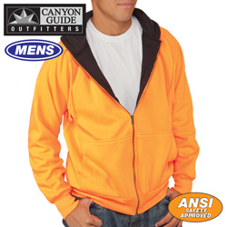 Hi-Vis Thermal Hoodie - Orange&nbsp;&nbsp;Model#&nbsp;74810-016HL