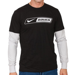 Nike/Bauer Long Sleeve Tee  Model# FOOLER T