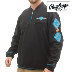 Rawlings 1/4 Zip Sweatshirt  Model# M2096-BLACK