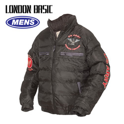 Black London Basic Jacket  Model# MJ3001-BLACK