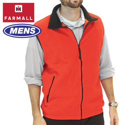 Mens Red Farmall IH Vest  Model# FMV-0113E