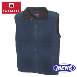 Mens Navy Farmall IH Vest  Model# FMV-0113B