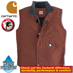 Carhartt Nylon Insulated Vest  Model# V27