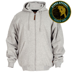 Berne Gray Thermo Hood Sweatshirt  Model# SZ101GY