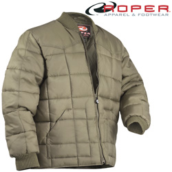 Roper Khaki Down Jacket  Model# 03-097-0761-0786