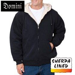Black Fleece/Sherpa Hoodie&nbsp;&nbsp;Model#&nbsp;14025
