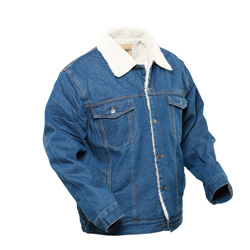 Sherpa Denim Jacket  Model# 14029MED BLUE
