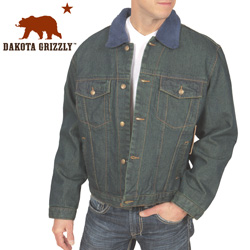 Flannel Lined Denim Jacket  Model# 2771C-014HL-2X