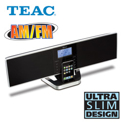 TEAC Slimline Audio System  Model# MC-DX80i