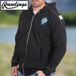Rawlings Black Hooded Sweatshirt  Model# M2097-BLACK