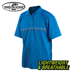 Pro Player Golf Shirt - Blue  Model# M2977-BLUE