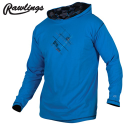 Rawlings Jersey with Hood  Model# M2085-OCEAN