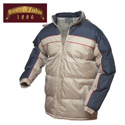 Mens Khaki Bubble Jacket  Model# 912-B-KHAKI