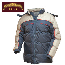 Mens Navy Bubble Jaket  Model# 912-B-NAVY