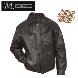 Mens Lambskin Leather Jacket  Model# 287302