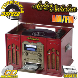 Anders Nicholson® CD Recorder Home Stereo  Model# E6906