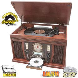 Nostalgia Stereo with CD Recorder  Model# INT