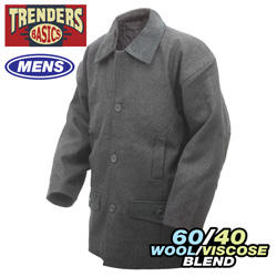 Dark Grey Trenders Jacket  Model# JK-608(DARK GREY)