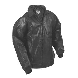 Black Leather Jacket  Model# 393-BLACK