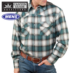 Longsleeve Western Flannel&nbsp;&nbsp;Model#&nbsp;43519-306HL
