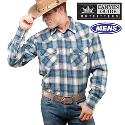 Longsleeve Western Flannel&nbsp;&nbsp;Model#&nbsp;43519-308HL