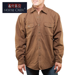 Cinnamon Moose Creek Shirt/Jacket  Model# 7201-CINNAMON
