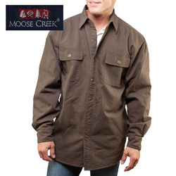 Chocolate Moose Creek Shirt/Jacket  Model# 7201-CHOCOLATE