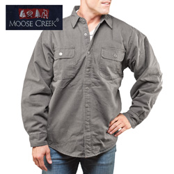 Grey Moose Creek Shirt/Jacket&nbsp;&nbsp;Model#&nbsp;7201-CEMENT