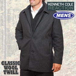Kenneth Cole Car Coat&nbsp;&nbsp;Model#&nbsp;KC-604