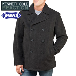 Kenneth Cole Peacoat - Charcoal  Model# KC-606