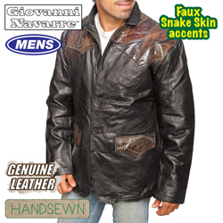 Western Leather Sport Coat  Model# GFWBR