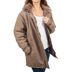 Womens Microfiber Jacket  Model# 77994-BRITISH TAN