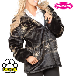 Snowflake Winter Jacket  Model# 20170BLACK