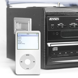 Jensen Stereo System with Turntable  Model# JTA-980