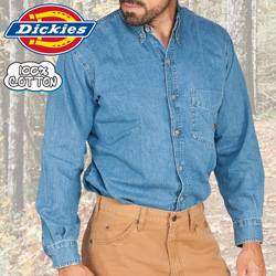 Dickies Denim Shirt  Model# WL300SNB