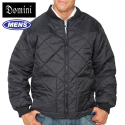 Quilted Zip Jacket - Black&nbsp;&nbsp;Model#&nbsp;14117-BLACK