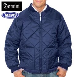 Quilted Zip Jacket - Navy&nbsp;&nbsp;Model#&nbsp;14117-NAVY