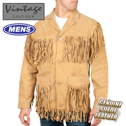 Western Fringe Jacket&nbsp;&nbsp;Model#&nbsp;49227-COGNAC