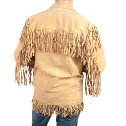 Western Fringe Jacket  Model# 49227-COGNAC