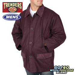Trenders Jacket  Model# JK608-BURGUNDY