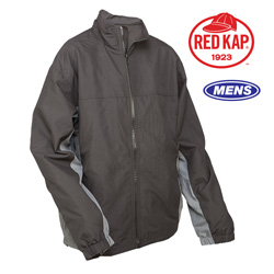 Red Kap 3-Season Jacket&nbsp;&nbsp;Model#&nbsp;JM32-BLACK/GREY
