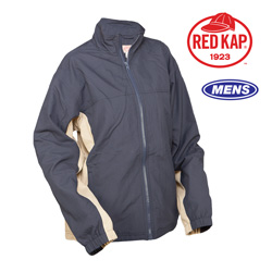 Red Kap 3-Season Jacket  Model# JM32-NAVY/KHAKI