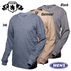 3 Pack Thermal V-Neck Shirts