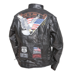Buffalo Motorcycle Jacket  Model# GFCRLTR