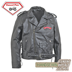 USA Motorcycle Jacket  Model# GFMOTLTR